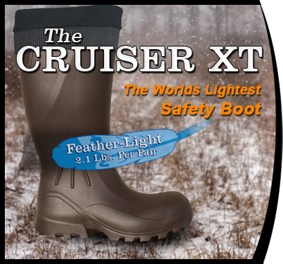 The Cruiser XT The Worlds Lightest Safety Boot