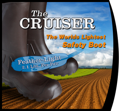 The Cruiser The worlds lightest safety boot